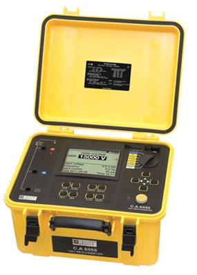 法国CA6550高压绝缘电阻测试仪