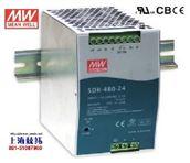 导轨电源SDR-480P-48正品明纬电源销售