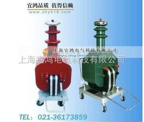 交流接触器 kv 电压表 1 - 2c 电容器 lj 电流继电器 高压试验变压器