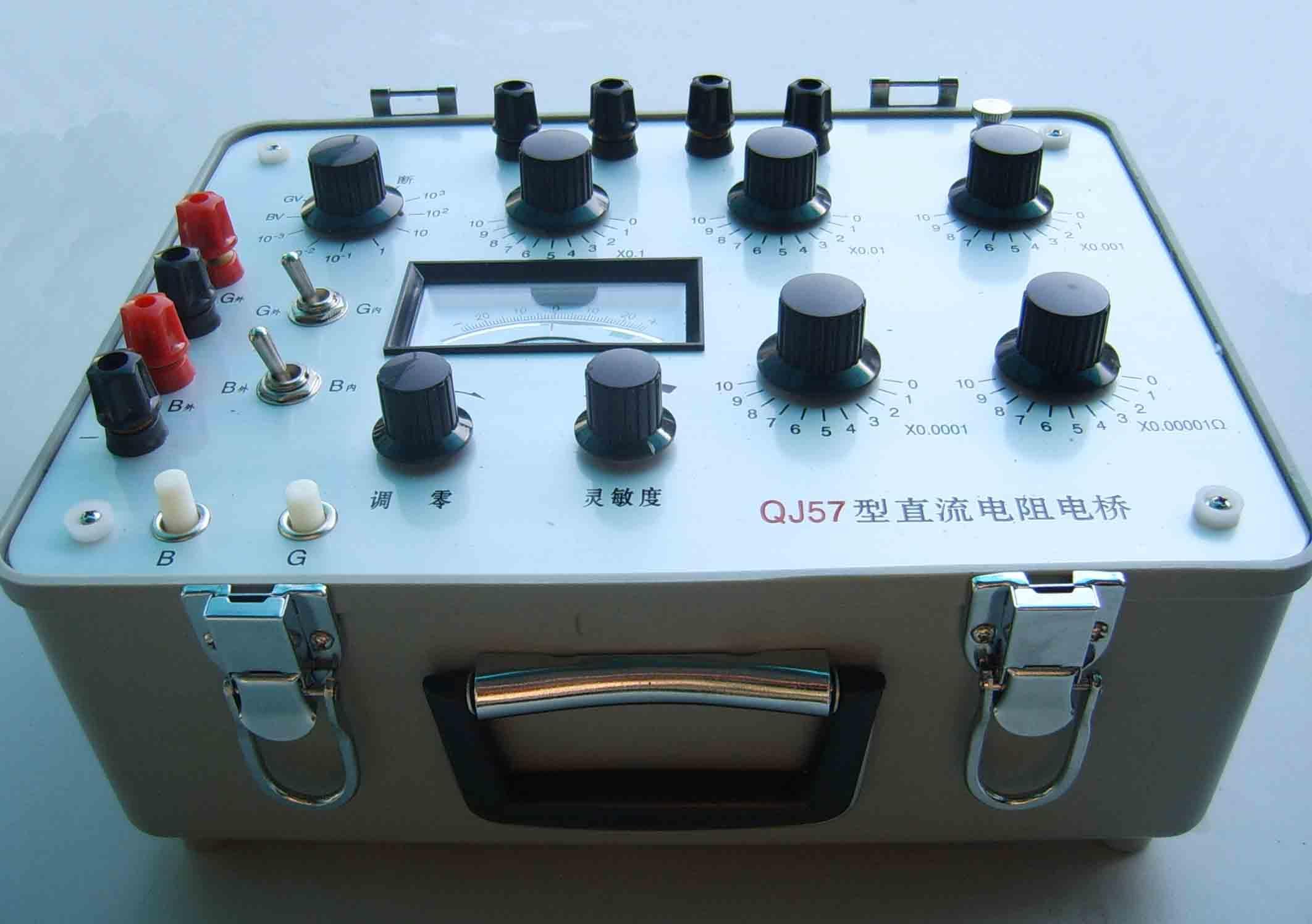 qj57型直流电阻电桥 qj49a型直流单臂电桥