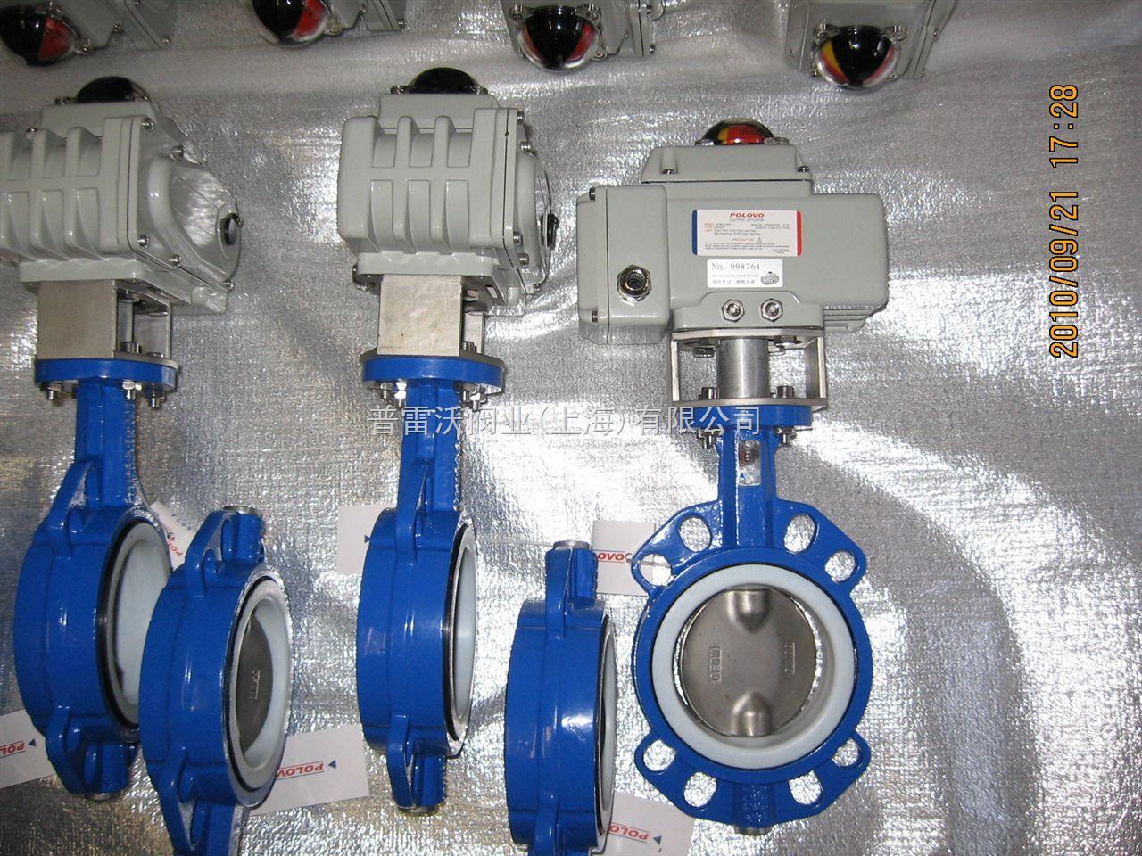 电动调节衬氟碟阀_化工机械设备_泵阀类_蝶阀_产品库图片