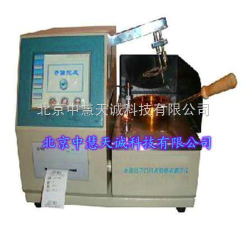 自动石油产品闪点和燃点测定仪(克利夫兰开口杯法) 型号:GFC/YF-109Z