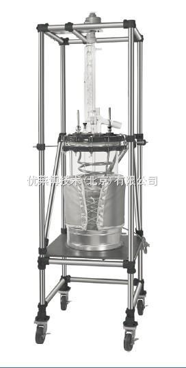 优莱博 圆柱形30L单层反应釜Ⅱ