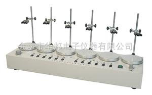 HJ-2、4、6多头磁力加热搅拌器