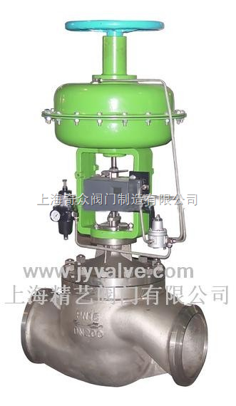 hta-气动单座调节阀-上海奇众阀门制造有限公司图片