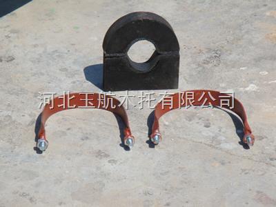 蒸汽保温空调木托 侵沥青油防腐木托