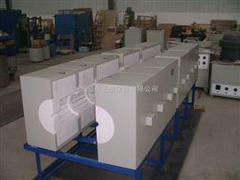 SK-24-12K多区加热可移动开启式管式电阻炉