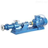 I-1B2.5寸温州1-1B浓浆泵(单螺杆泵)