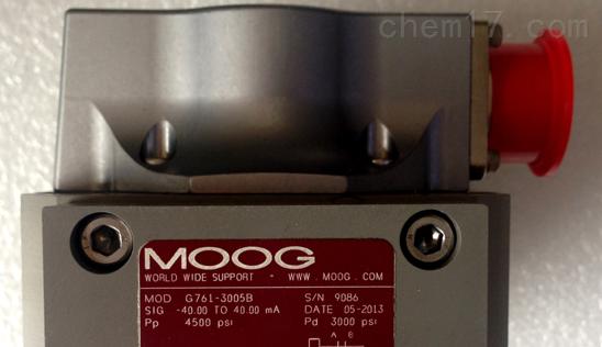 MOOG穆格伺服阀原装正品