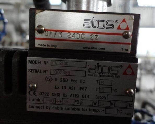 ATOS阿托斯柱塞泵现货特价