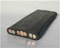 YB移动扁形橡套电缆/扁型电缆/扁平电缆价格