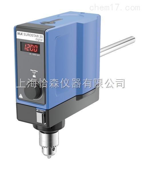 EUROSTAR 20 数显型顶置式搅拌器