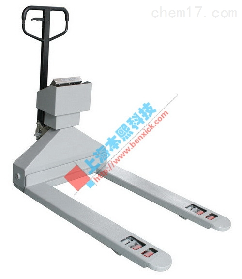 2T芜湖防水叉车秤带打印物料托盘搬运称