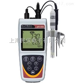 pH450优特eutech pH450便携式pH/ORP/离子/温度测量仪