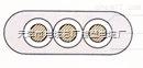 JHSB-3*6防水橡套扁电缆价格 防水电缆工作温度