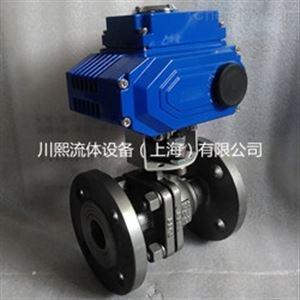 碳钢电动法兰球阀