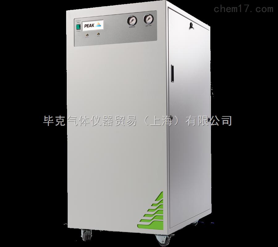 PEAK Genius 3051氮气发生器专为SHIMADZU岛津LCMS-8050和LCMS-8060设计,即使是在大气量的供应模式下,仍可为质谱提供足够的氮气和干燥空气。 PEAK Genius 3051氮气发生器可同时提供26L/min的高纯氮气和20L/min的干燥空气。如果LCMS 8050/8060采用的是标准供气模式,一台发生器甚至可以同时供应两台质谱。 特点: 经SHIMADZU岛津认证的用于LCMS-8050和LCMS-8060的气体解决方案。 内置集成式空压机,无需外接空气气源 支持L