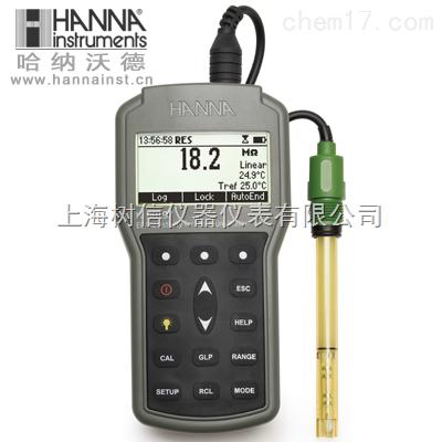 哈納HI98197超純水微電腦EC-TDS-電阻率-NaCI-℃水質儀