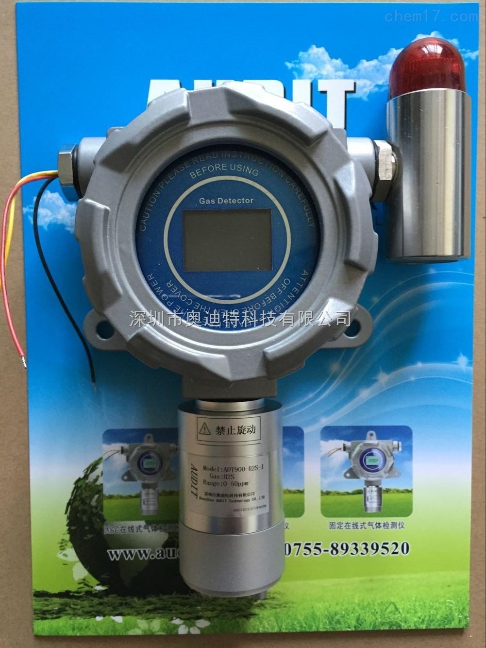 二氧化碳泄露浓度检测报警器