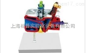 带预燃室的气缸盖解剖模型|汽车解剖实训装置