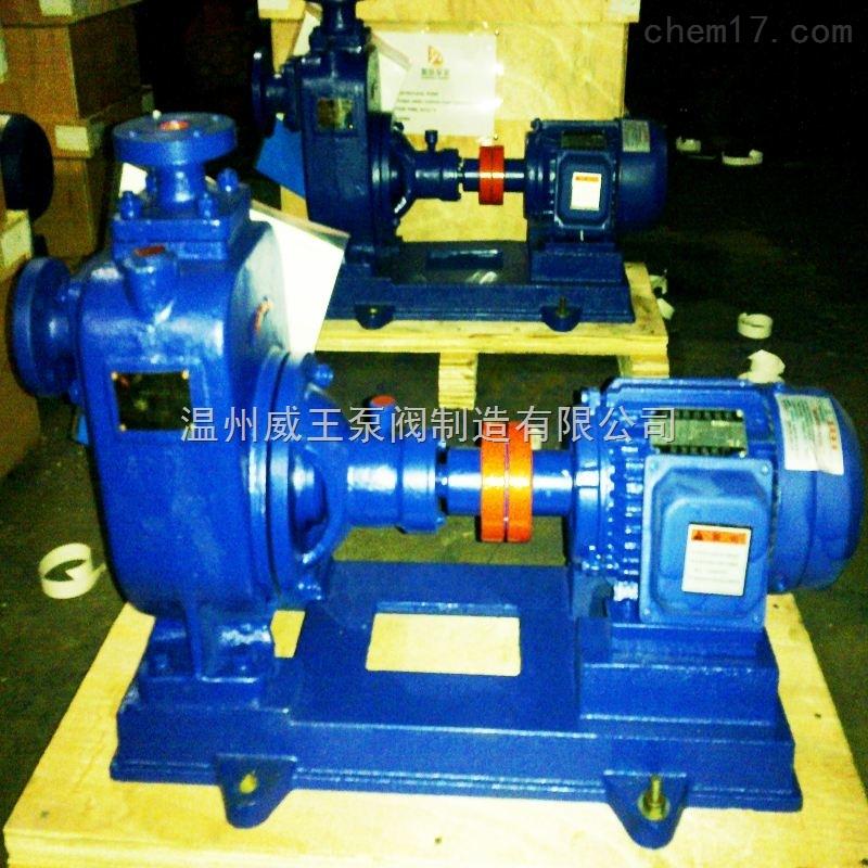 ZW系列自吸式无堵塞排污泵,自吸式不锈钢排污泵,无堵塞化工泵