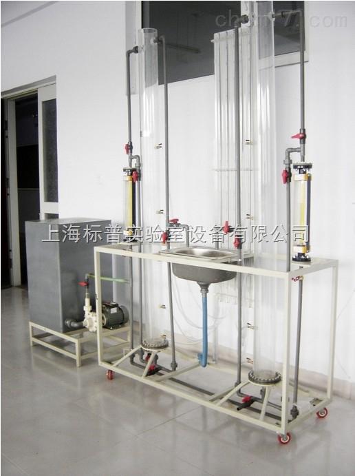 过滤与反冲洗实验装置|水处理工程实训装置