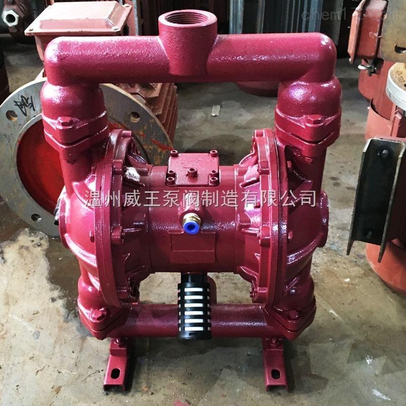 QBY型铸铁气动隔膜泵温州*水泵
