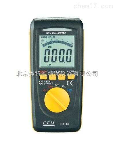 DT-10数字万用表 DT-16防水型万用表 DT-16A基本型数字万用表