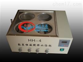 HH-4J四孔磁力搅拌水浴锅