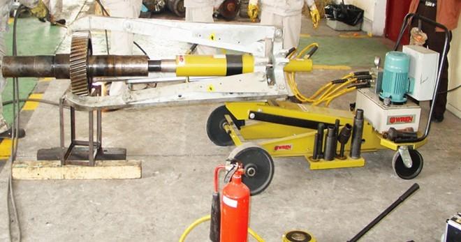 wren雷恩la50337 雷恩wren la50337全自动车载式液压拉马图片