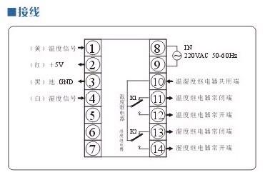 tdk0302智能温湿度控制器