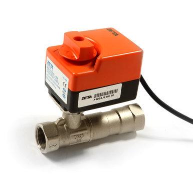 6,普通接线型电动球阀不能配三速开关,只配机械或者电子式温控器;配