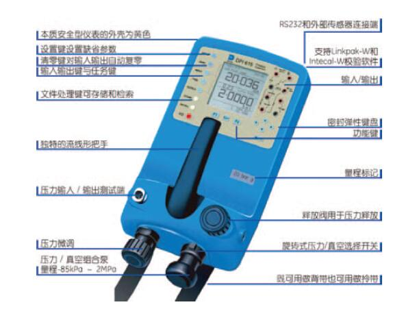 GE德鲁克DPI 610/615压力校验仪