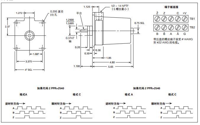 亨士乐光电增量编码器电气原理x25