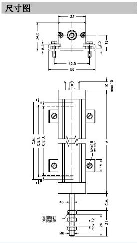 gefran杰佛伦lt系列电子尺样本