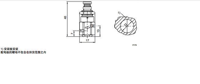 力士乐压力调节阀手动操纵原理r412010705