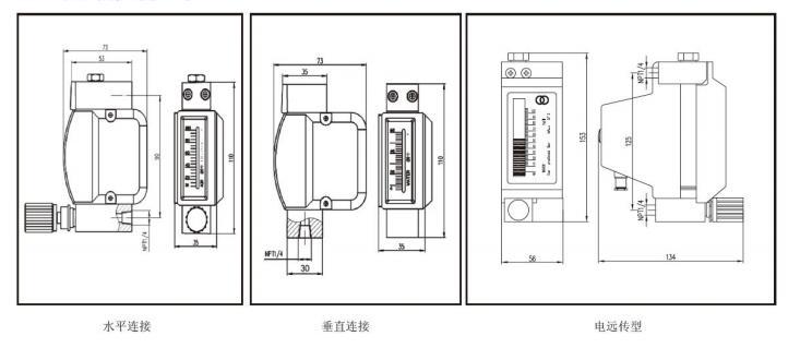 微小流量金属管浮子流量计安装尺寸.jpg