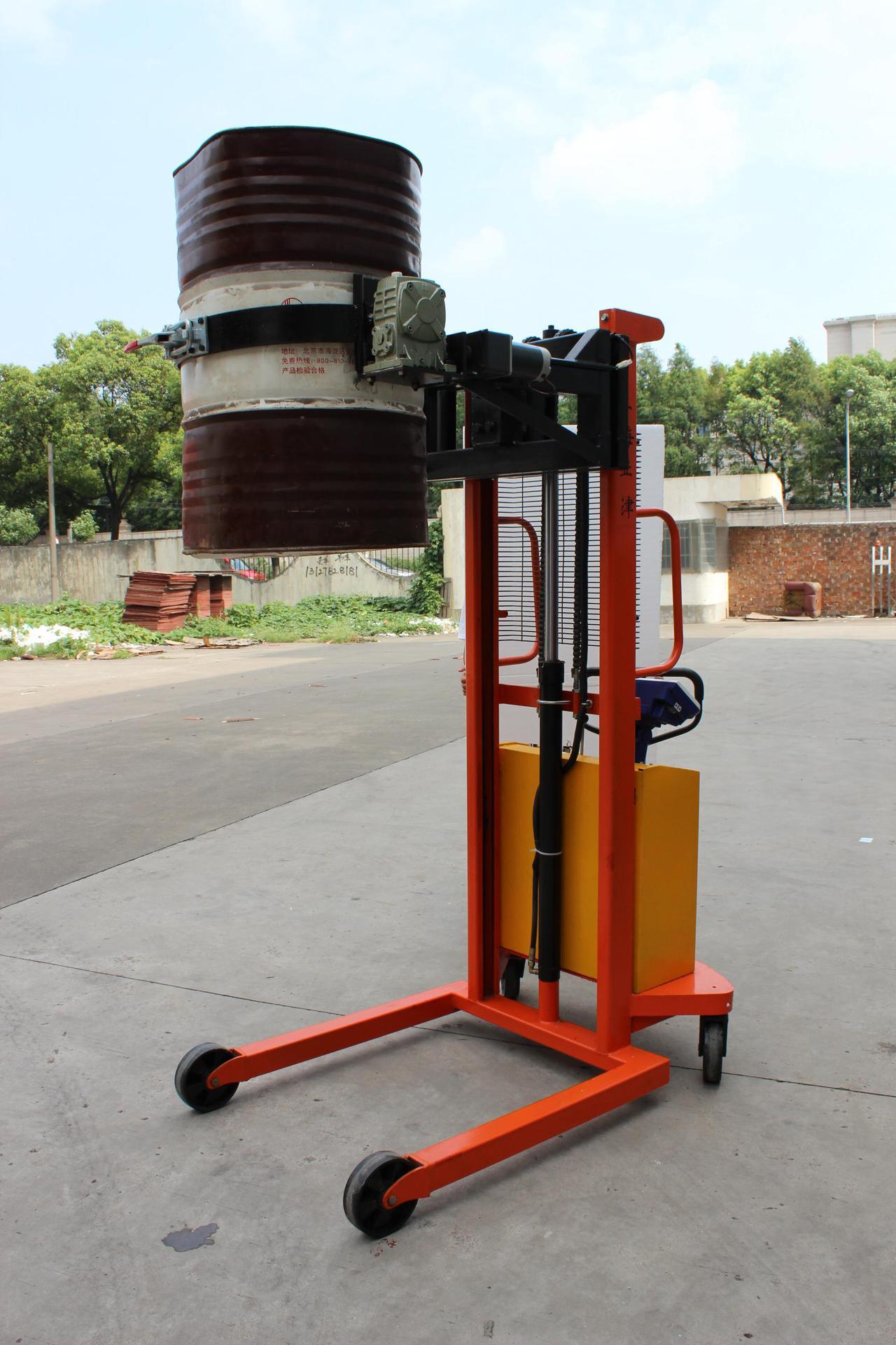 电子秤油桶搬运车地秤