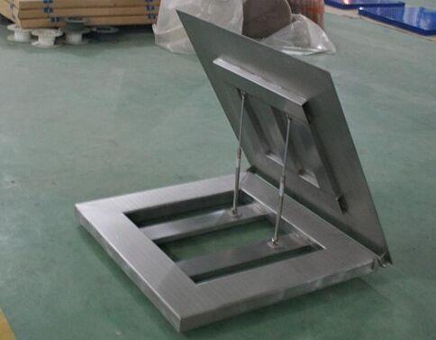 不锈钢可翻转地磅