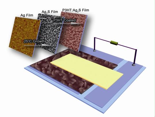 光子晶体薄膜作为吸光材料应用到钙钛矿太阳能电池中