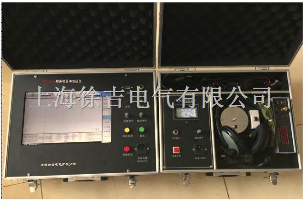 当低压脉冲信号或高压闪络脉冲信号到来并触发控制电路之后,仪器开始