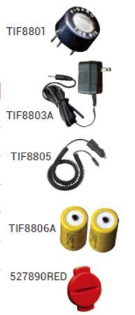 TIF 8900-E可燃气体检漏仪配件信息