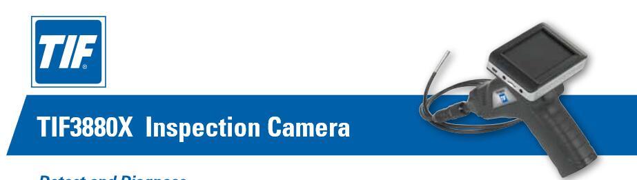 美国TIF3880X内窥摄像机