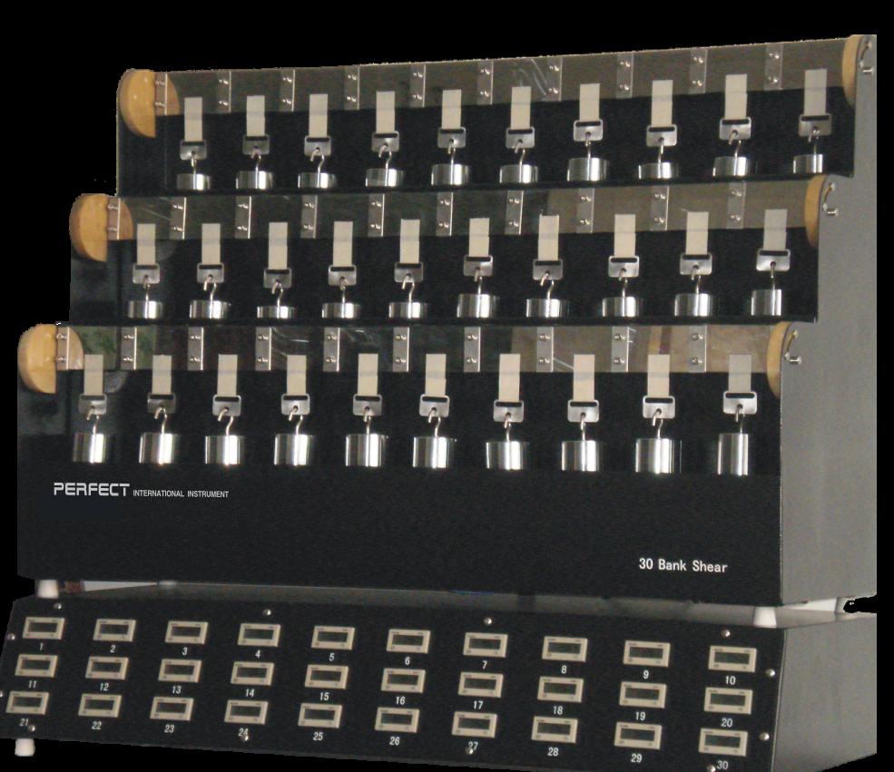 PT-6030胶带保持力试验机(30组)