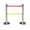 不锈钢伸缩围栏|双层伸缩围栏带|专业生产围栏